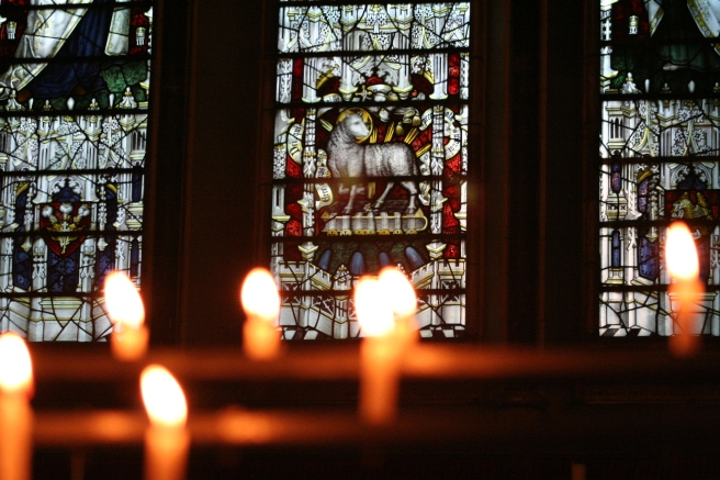 CandlesLamb